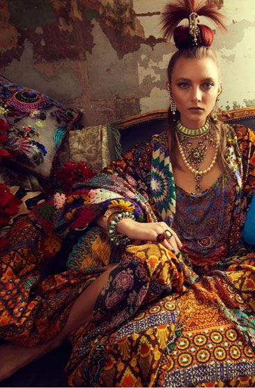 Boho Chic Ethnic Inspiration In Interior Design Projects: Бохастое In 2019