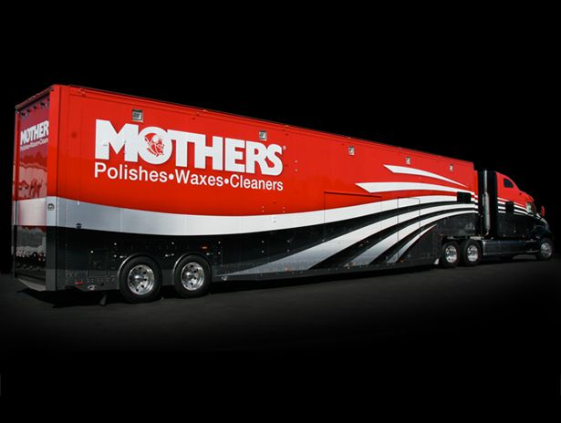 Mothers Big Rig As Part Of Their Brand Overhaul McLean Design - Overhaul car show
