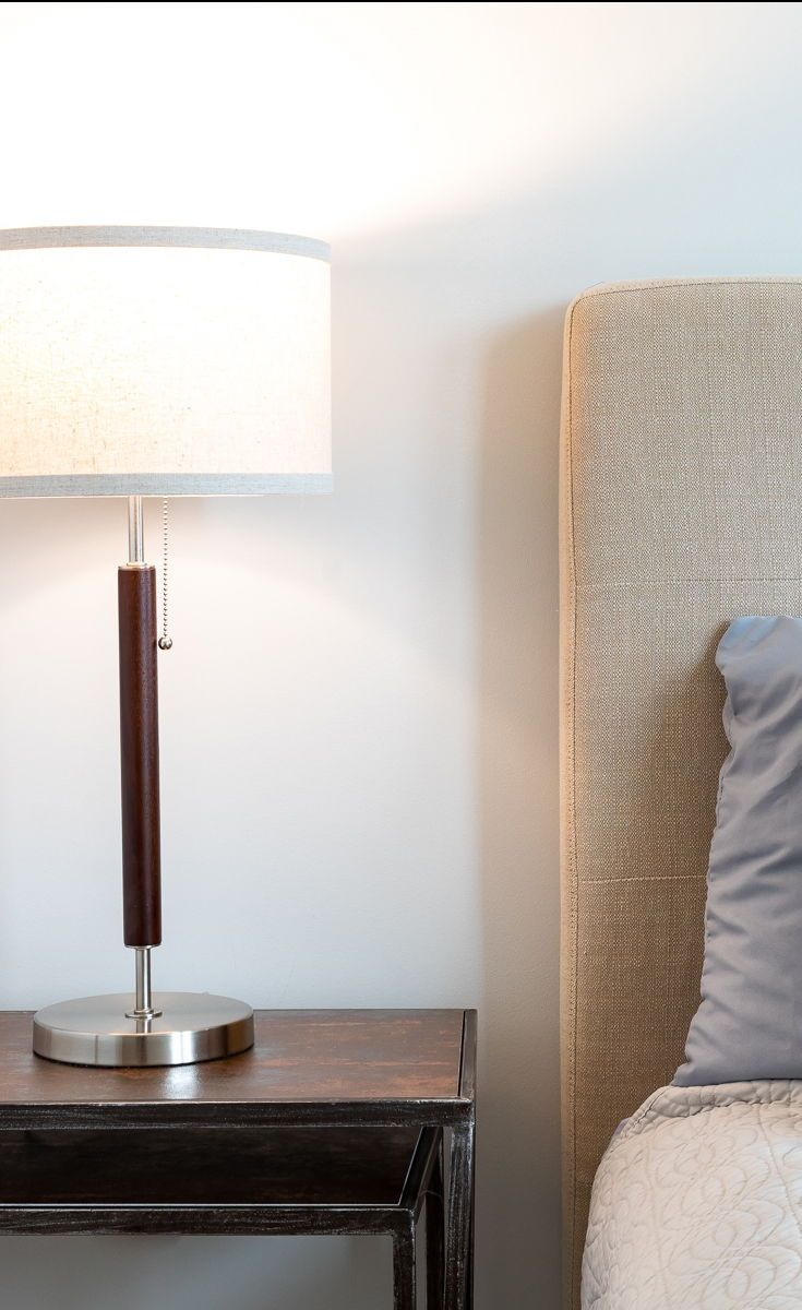 The Carter Led Side Table Amp Desk Lamp Works Well With A Variety Of Interior Design Schemes Such