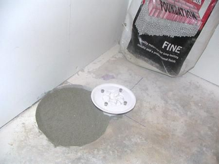 Luxury Shower Drain In Basement
