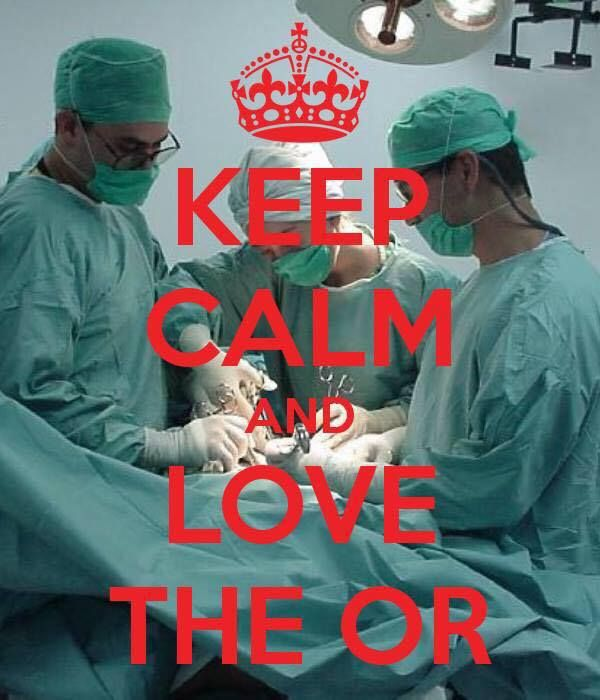 operating room registered nurse  my career