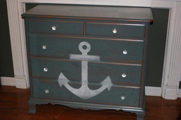Nautical Chest Of Drawers Nautical Chest Of Drawers Boys Room Nautical Nautical Room