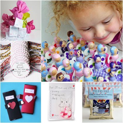 Tokens of Affection! 15 DIY Valentine Gifts for School Friends | MollyMoo for @Spoonful