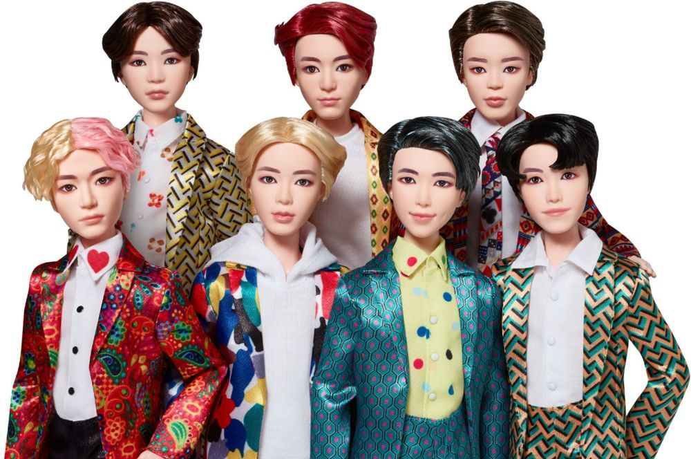 BTS - 11 Idol Doll - Styles May Vary #geekculture