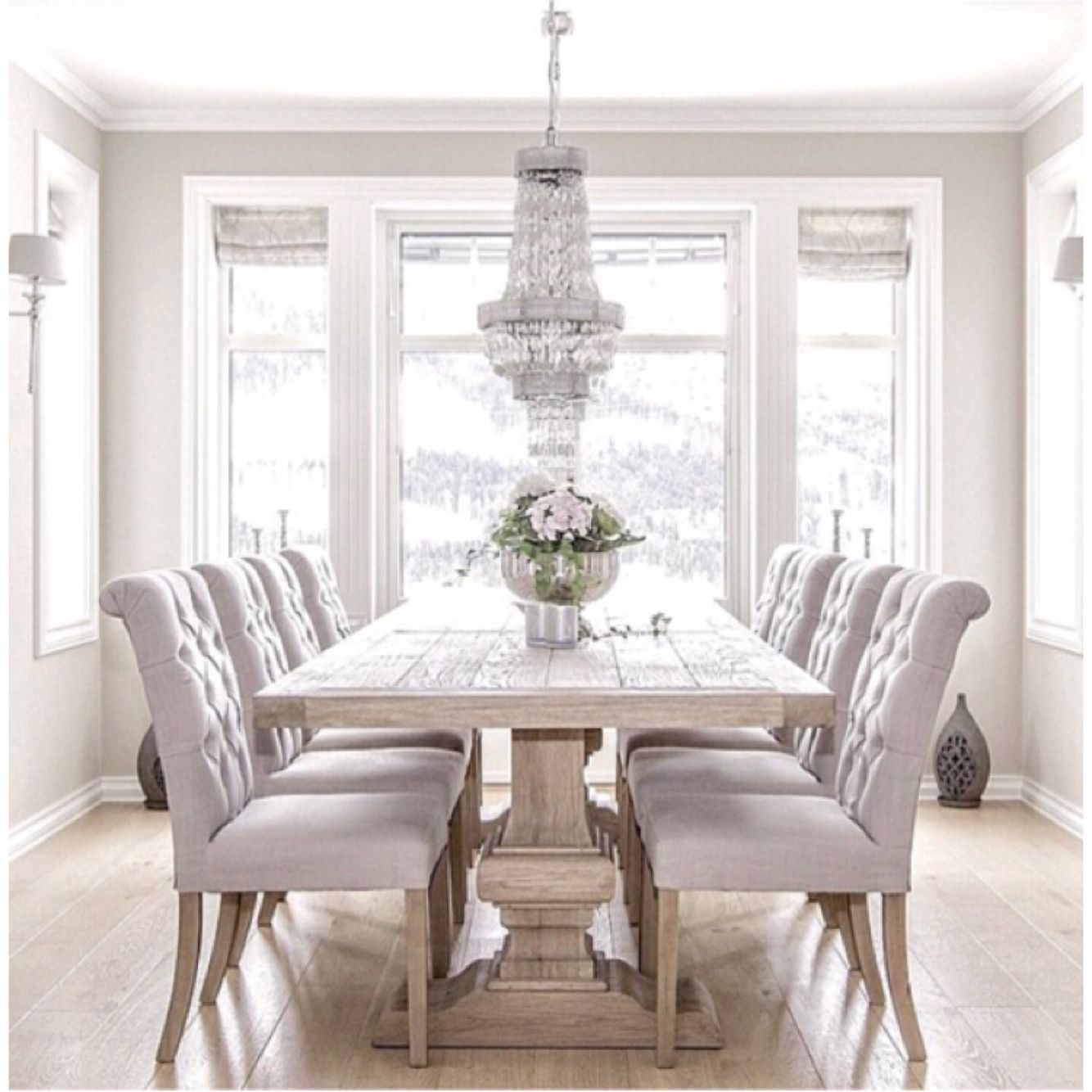 25 Elegant And Exquisite Gray Dining Room Ideas: Luxury Dining Room, Luxury