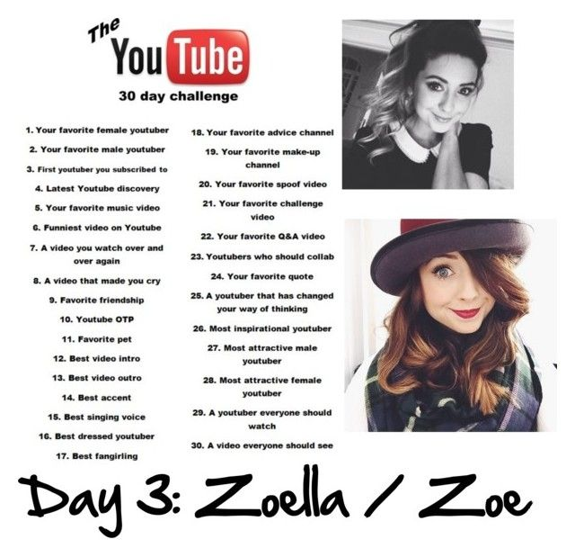 """""""Day 3: Zoella"""" by megalee ❤ liked on Polyvore"""