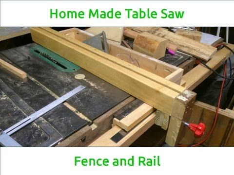 A T Square Style Fence And Rail System For My Table Saw That I Built Using Reclaimed Wood So Didn Spend Dime On It This Was Surprisingly Easy