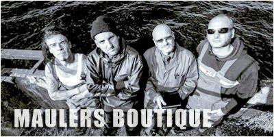 """Maulers Boutique - Mauler ist """"der"""" Kult-Rapper aus Rostock und MV. Und Mauler hat seit dem Frühjahr 2012 eine Boutique. Eine laute – eine unerbittlich laute Boutique. Die Boutique sind neben Mauler Gitarrist Ole Bronsen, Bassist Olli G. und Drummer Steffen L. – vier Typen, die kaum unterschiedlicher sein können und gerade deshalb so gut zusammen passen."""