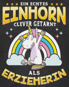 T-Shirt Weihnachtsmarkt Glühweinhorn Weihnachten Nikolaus Geschenk Einhorn Fun