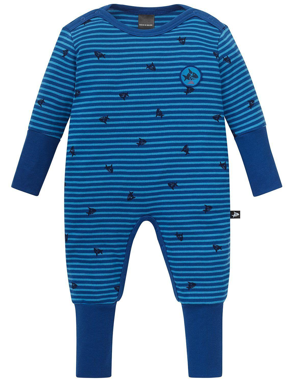 Schiesser Jungen Capt/´n Sharky Baby Anzug mit Vario Zweiteiliger Schlafanzug