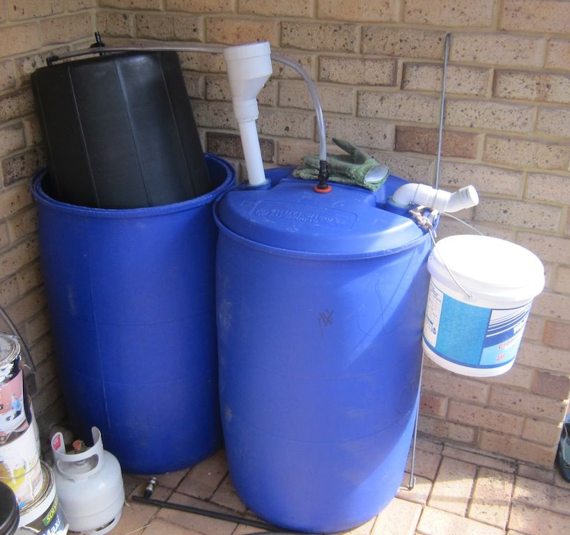 55 Gallon Drum Storage System