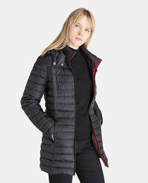 38accd6c Plumífero largo de mujer JOTT con capucha | Clothes | Capuchas, Ropa ...