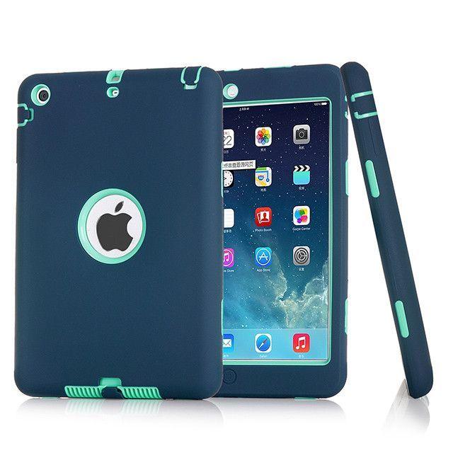 cc664c9e97 Shockproof Silicone Case for iPad mini 1/2/3 Kids Safe Armor Heavy Duty
