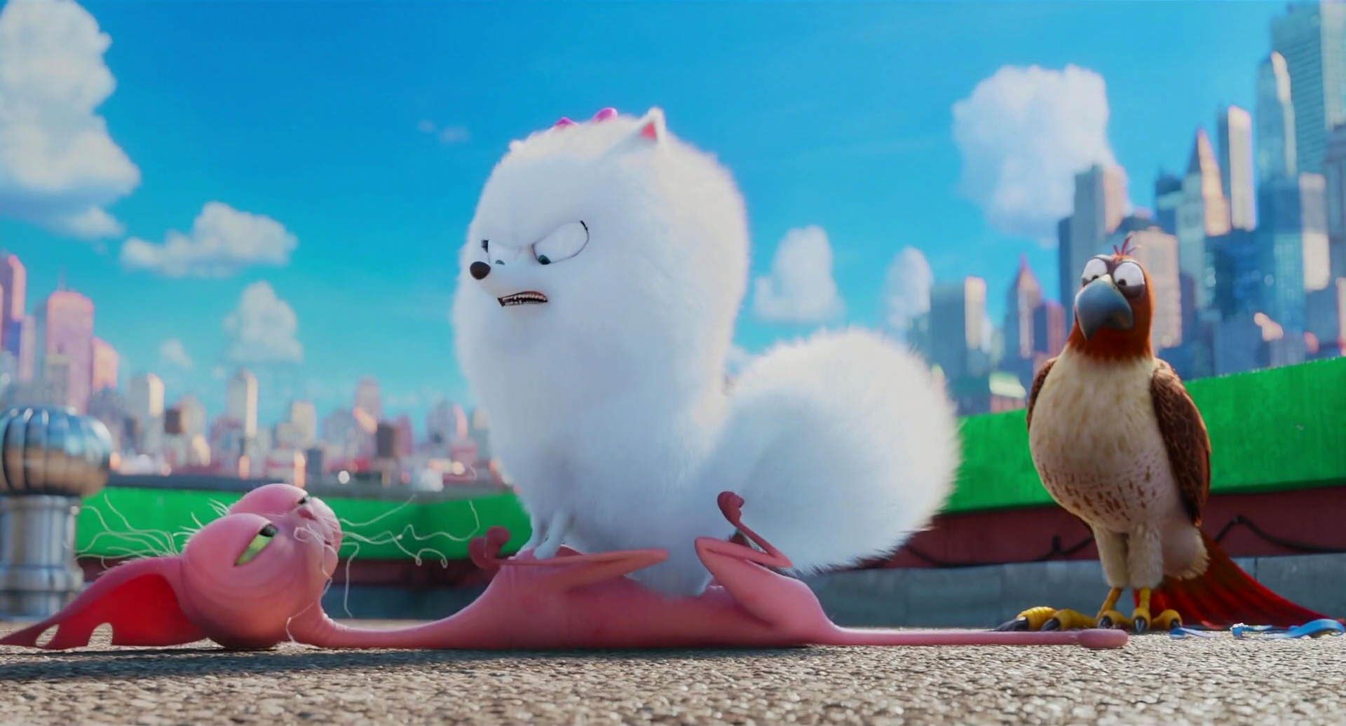 Screencap Gallery For The Secret Life Of Pets 2016 1080p Bluray Illumination Entertainment Taking Place In A Manhatta Pets Movie Pets Secret Life Of Pets