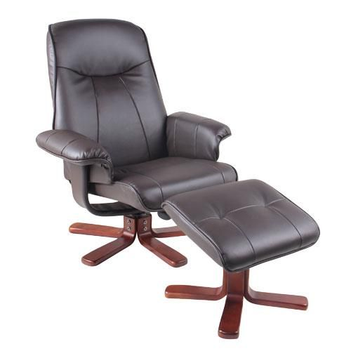 On Clearance $179.88 | Reclining Swivel Chair With Slant Ottoman  #home #furniture #recliner #chair #clearance