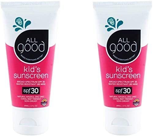 Badger - SPF 30 Zinc Oxide Sunscreen Cream - Unscented