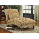 Found it at Wayfair - Chenille Chaise Lounge