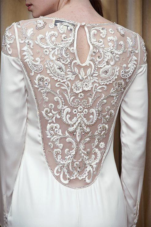 Temperley London wedding dress, 2012