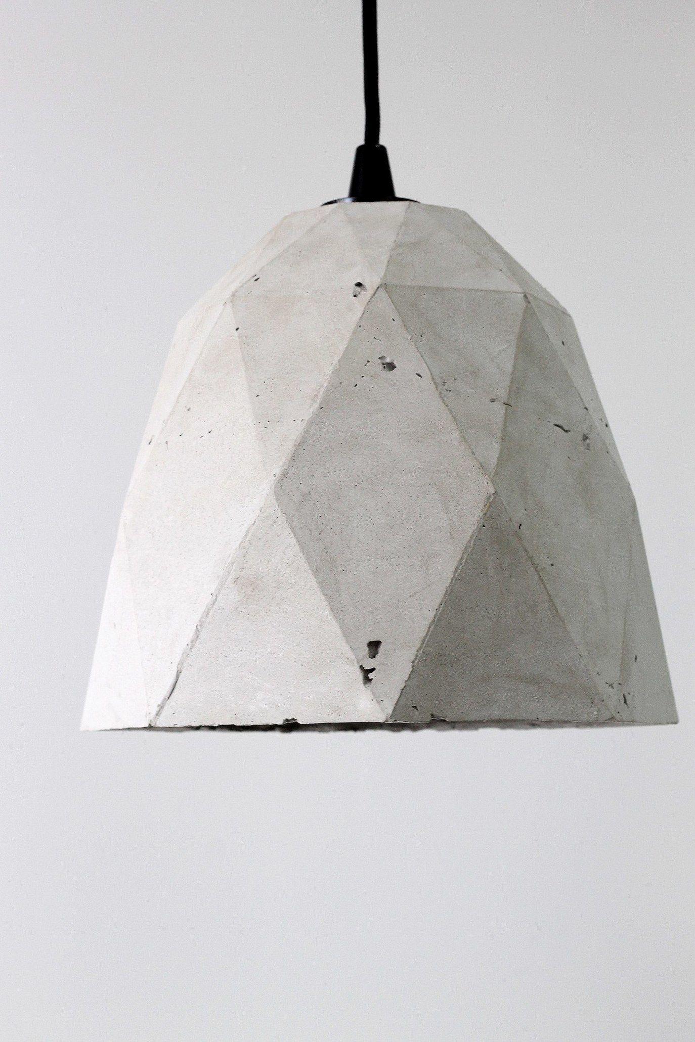 Люстра из бетона фильтрация цементного раствора