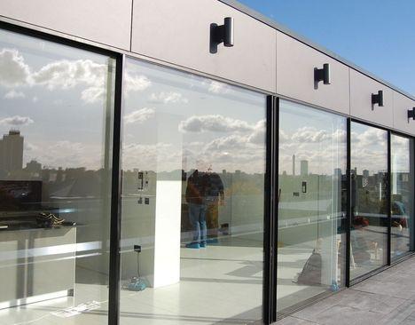 Sky-Frame doors to terrace.