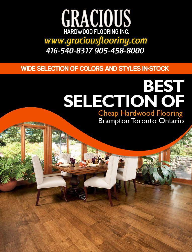Cheap Hardwood Flooring Store In Brampton Toronto Ontario We Deal In Engineerd Hardwood Ex With Images Cheap Hardwood Floors Flooring Store Prefinished Hardwood