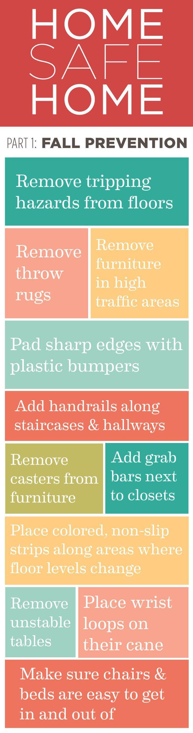 Home Safe Home Part Tips On Preventing Falls Senior Living