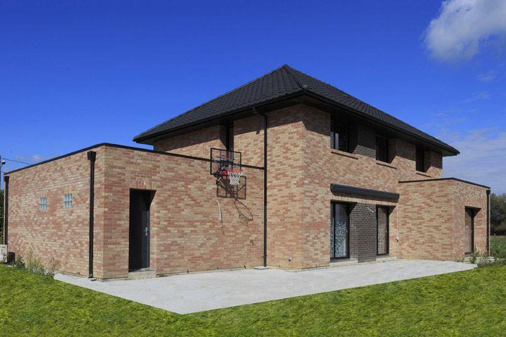 Maison cubique de 175 m² avec 4 chambres et un bureau. | Maison ...