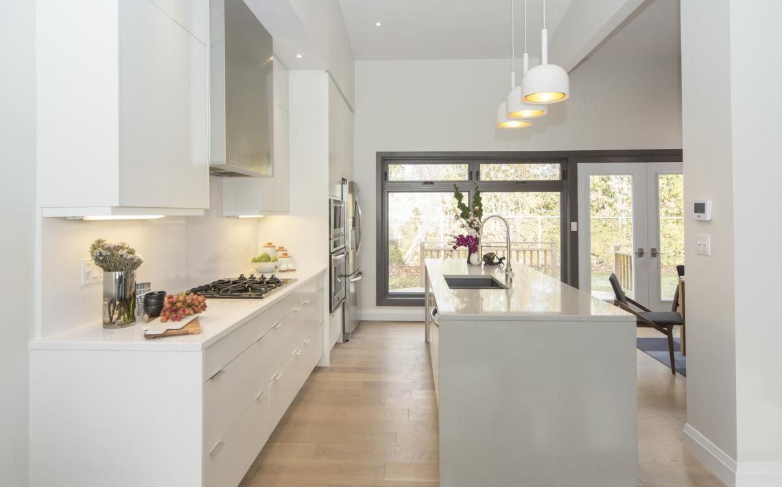 After: Kitchen. The Property Bros./John and Diana episode. Think ...
