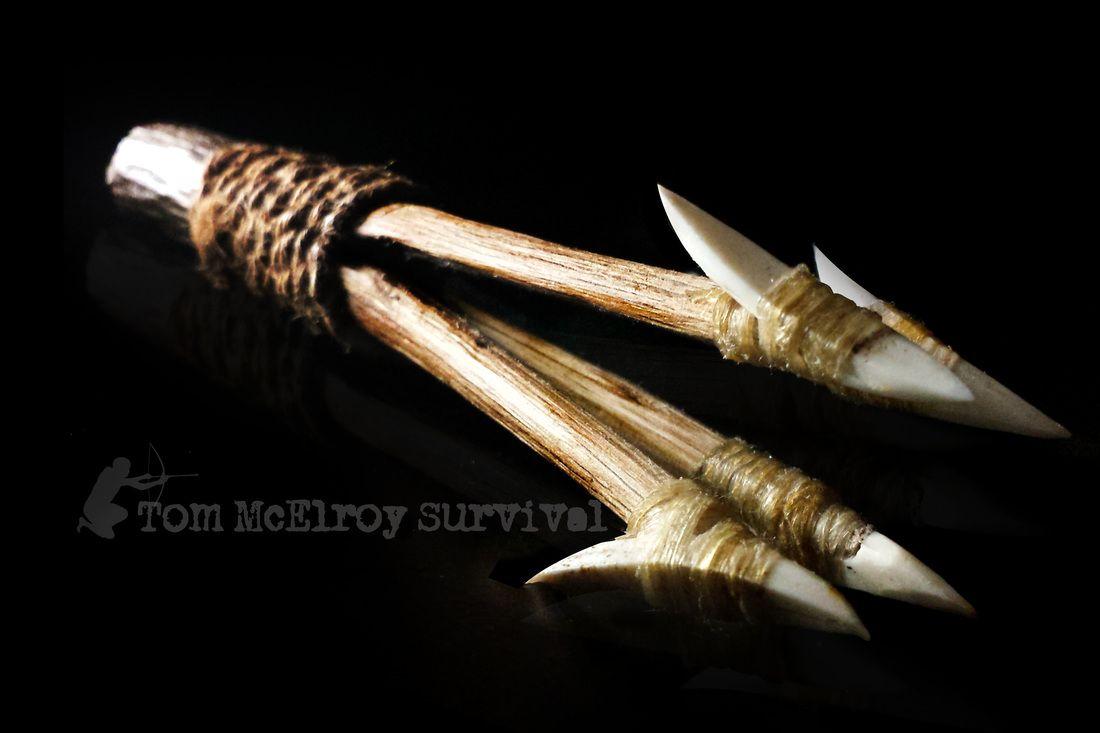 primitive fishing spear
