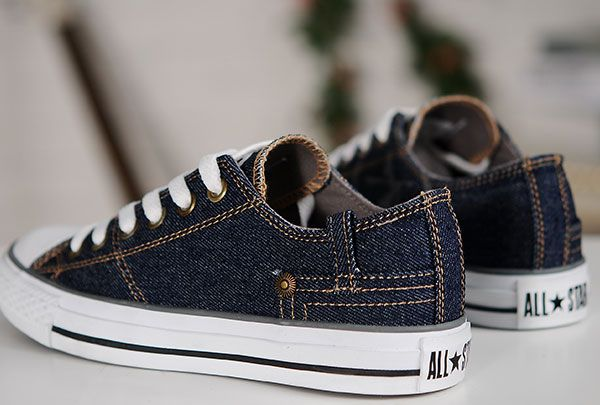 2015 Retro Converse Blue Jeans Style Chuck Taylor All Star Low Tops Sneakers f311ac412