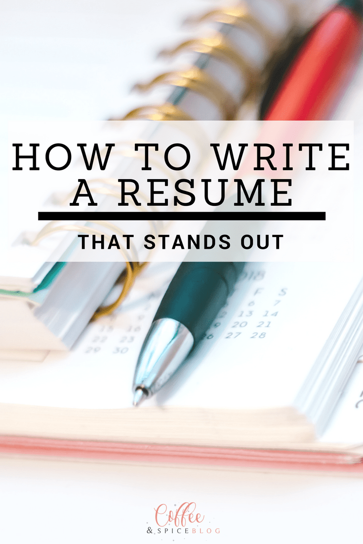 How To Write A Resume That Stands Out  Dream Job Increase Sales