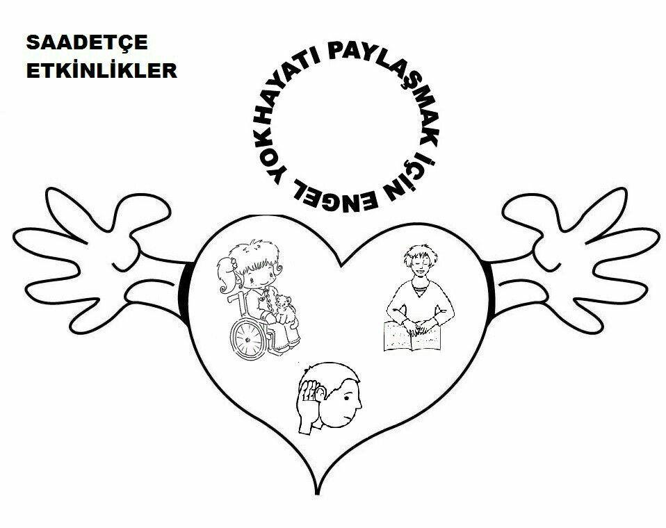 Engelliler Haftası Boyama Sayfaları Boyama Pinterest Education