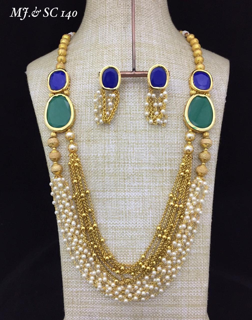 Ali Kahn New York Necklace Polka Dot Necklace Vintage Jewelry Statement Jewelry Fashion Jewelry
