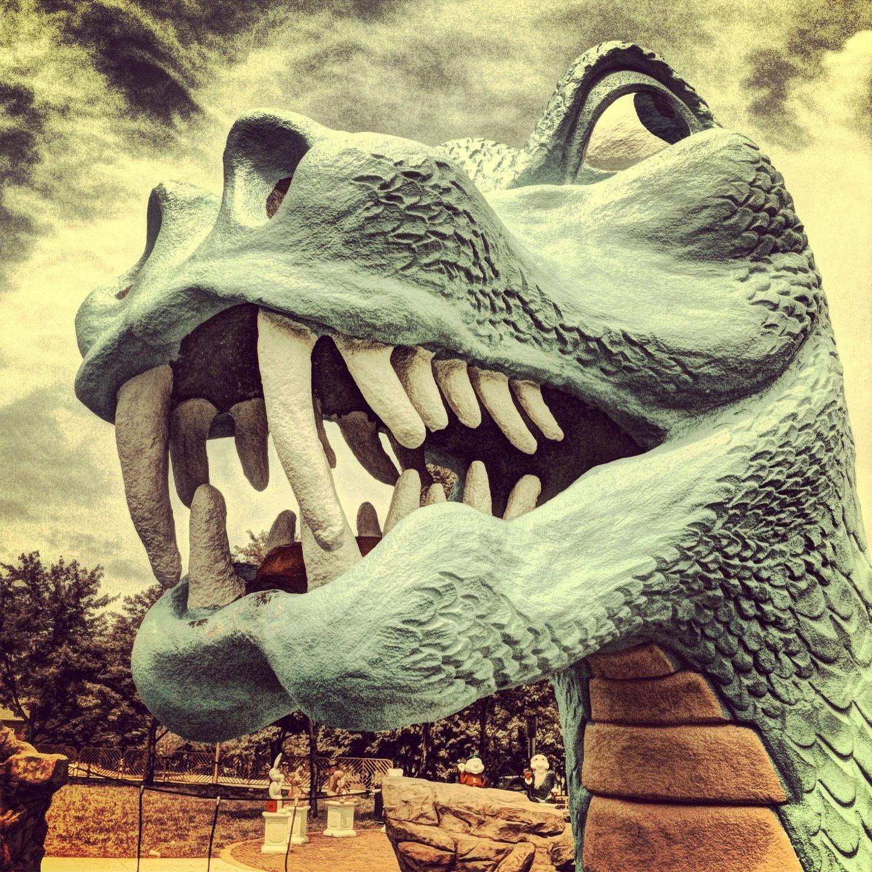 Dinosaur park in #kc | Fantastical photos of Kansas City