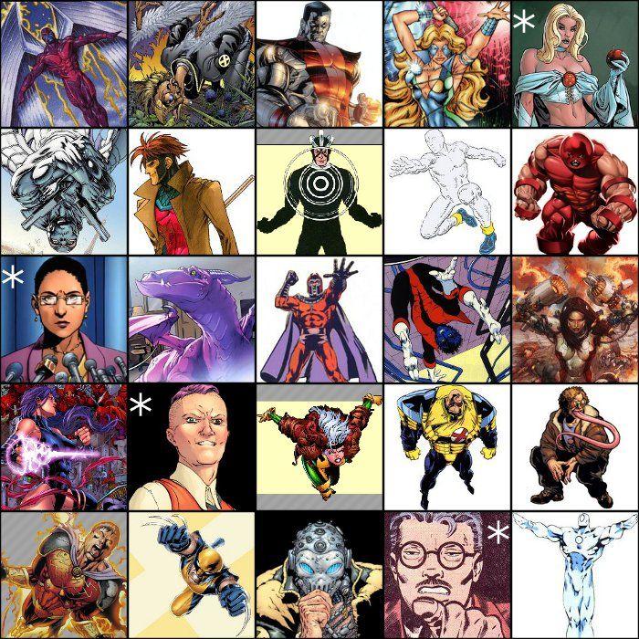 X Men Alphabet By Picture X Men Man Character Men