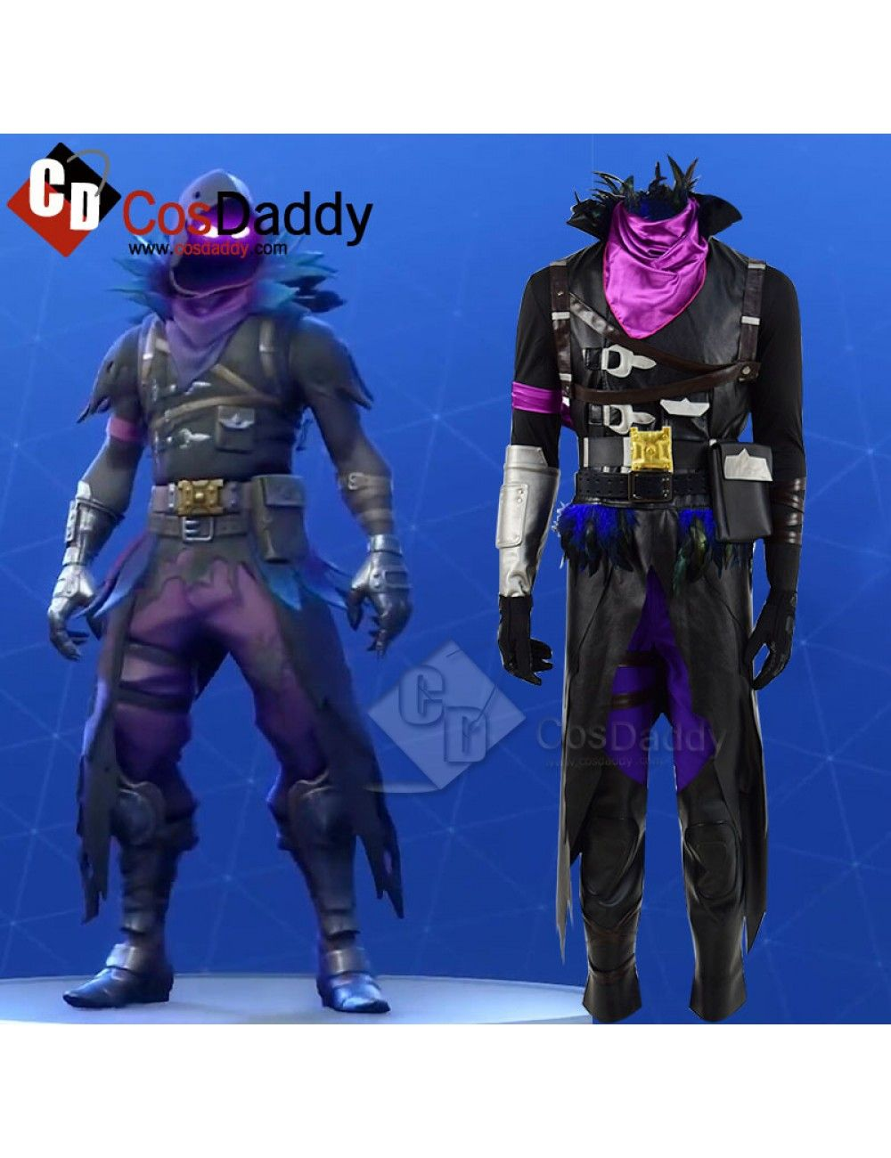 Fortnite Raven Skin Cosplay Costume Fortnite Pinterest