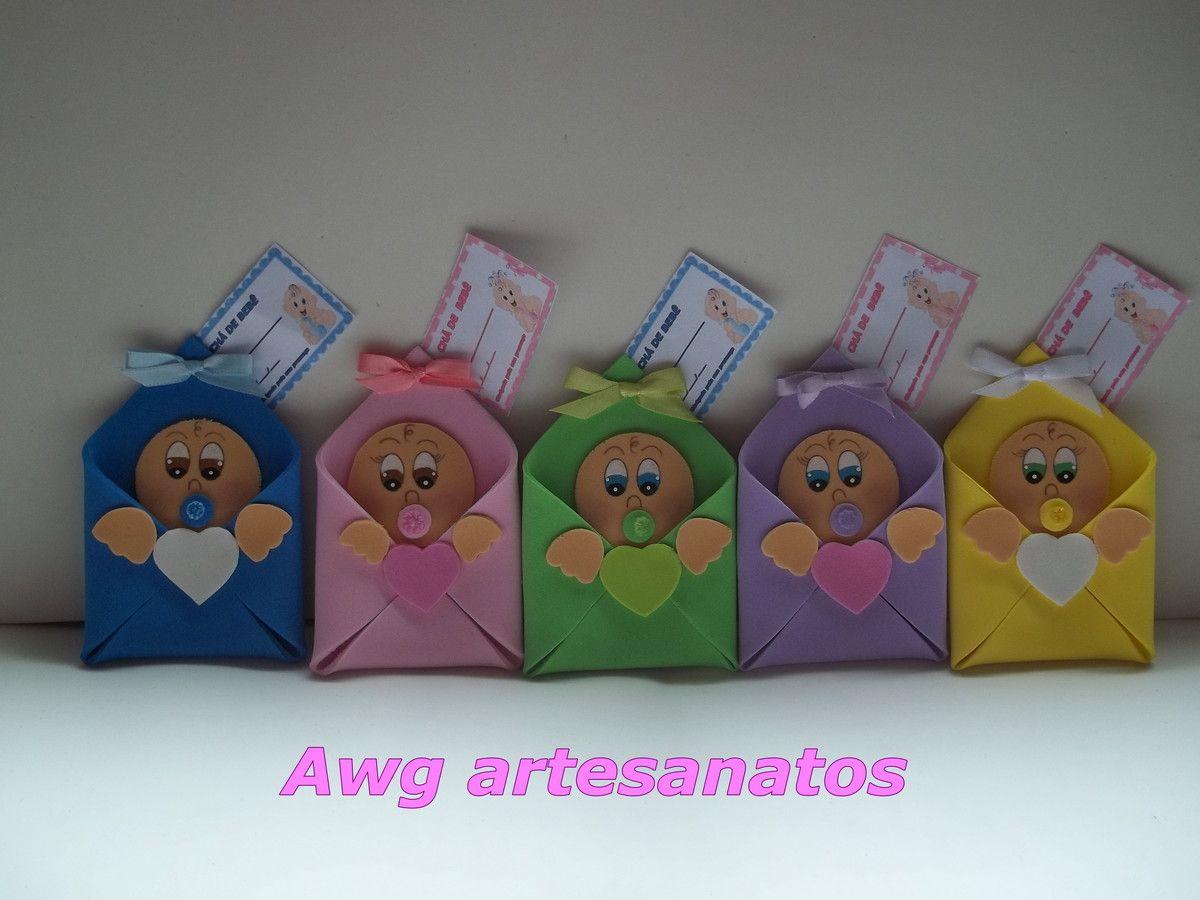 Estas lindas lembrancinhas pode ser usada para chá de bebê ou lembrancinha de nascimento.As cores ficam a escolha do cliente