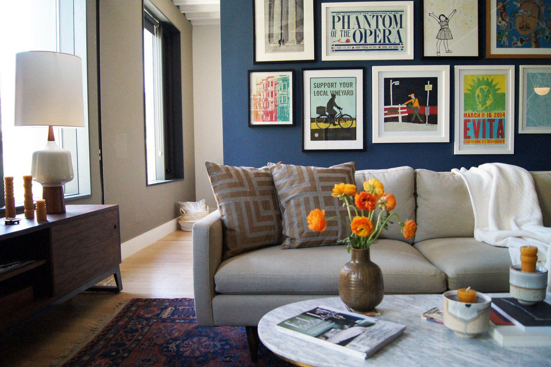 Brooklyn 3B | Living Room | Home decor, Room, Design