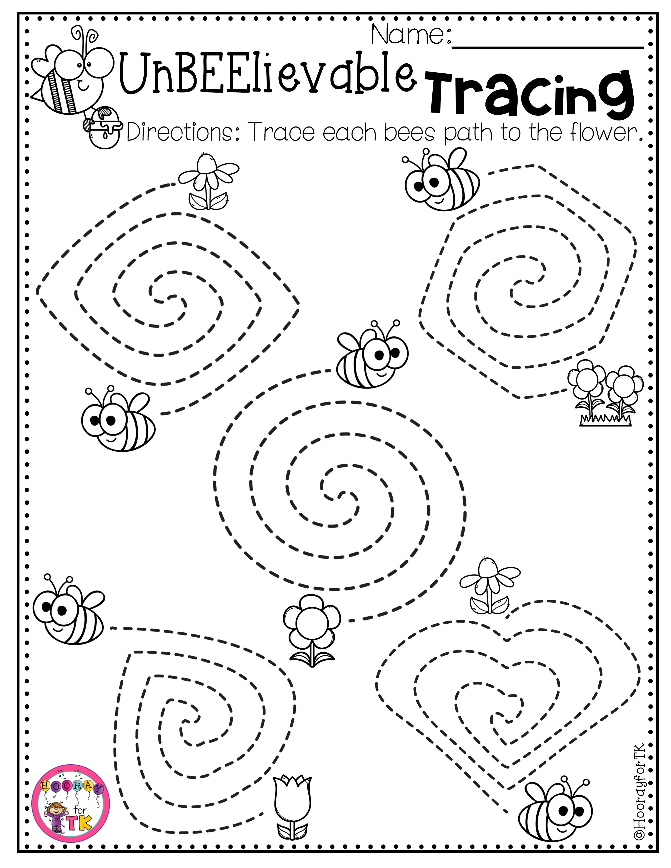 Spring Worksheets For Kids In