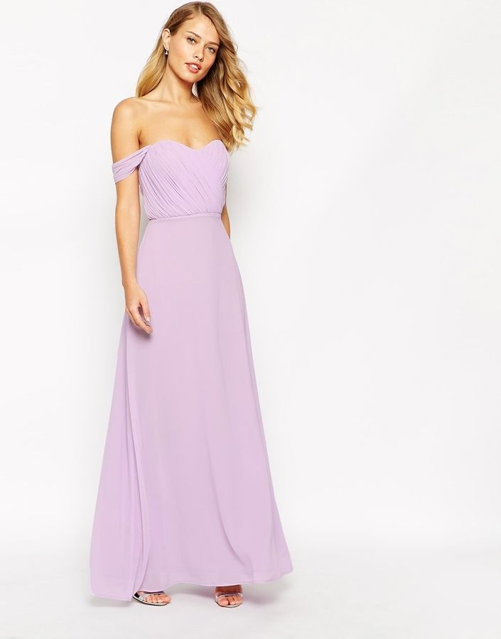 2514cf412b3e Jarlo Florance Off Shoulder Maxi Dress