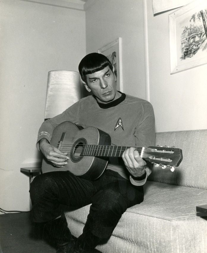 Mr. Spock: «Highly Illogical» #geschiedenis