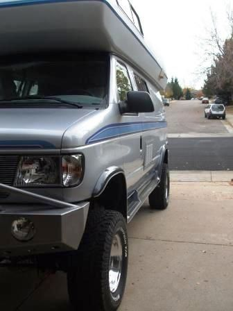 Boulder Offroad 4x4 Van Custom Conversions 4x4 Motorhome Rv