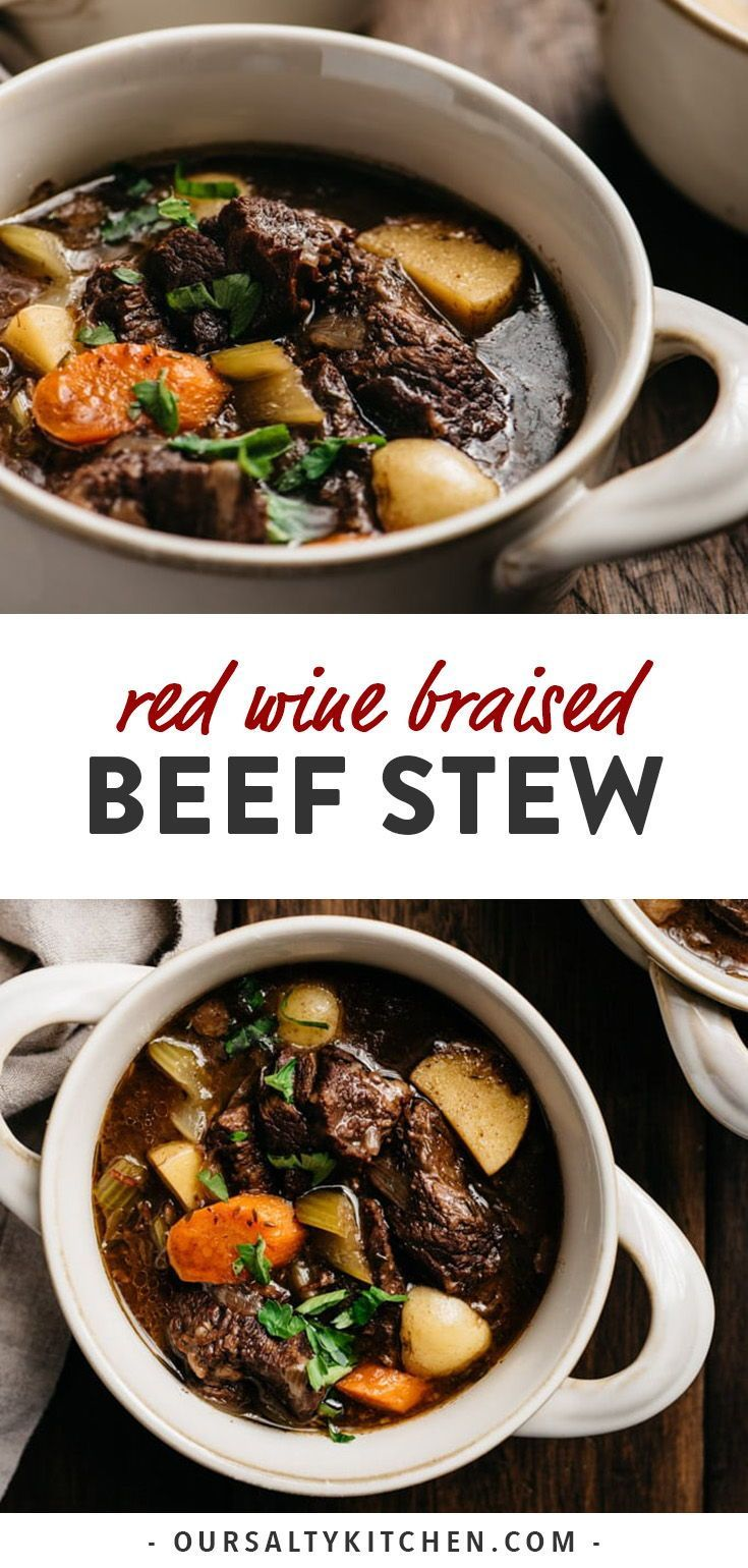 Red Wine Beef Stew Recipe Sunday dinner recipes, Clean