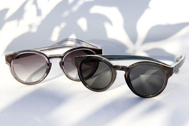 Kris Van Assche x Linda Farrow 2012 Fall/Winter Round Sunglasses