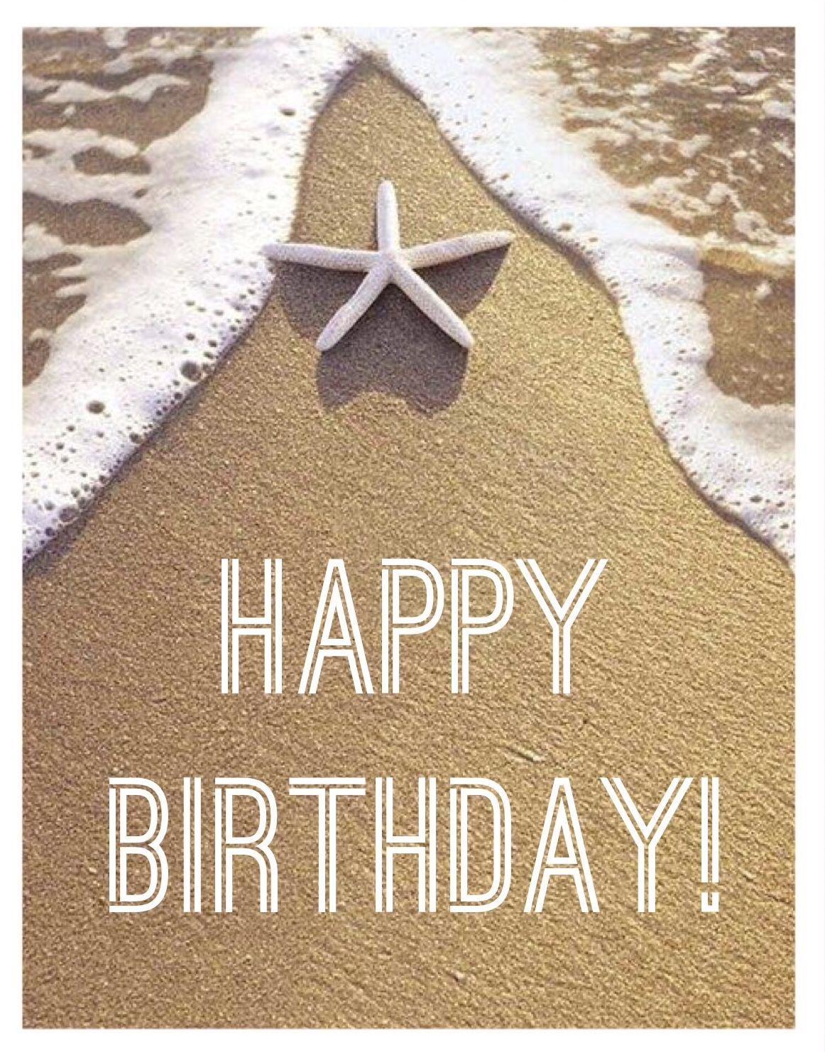 Ocean Happy Birthday Greetings Happy Birthday Cards Happy