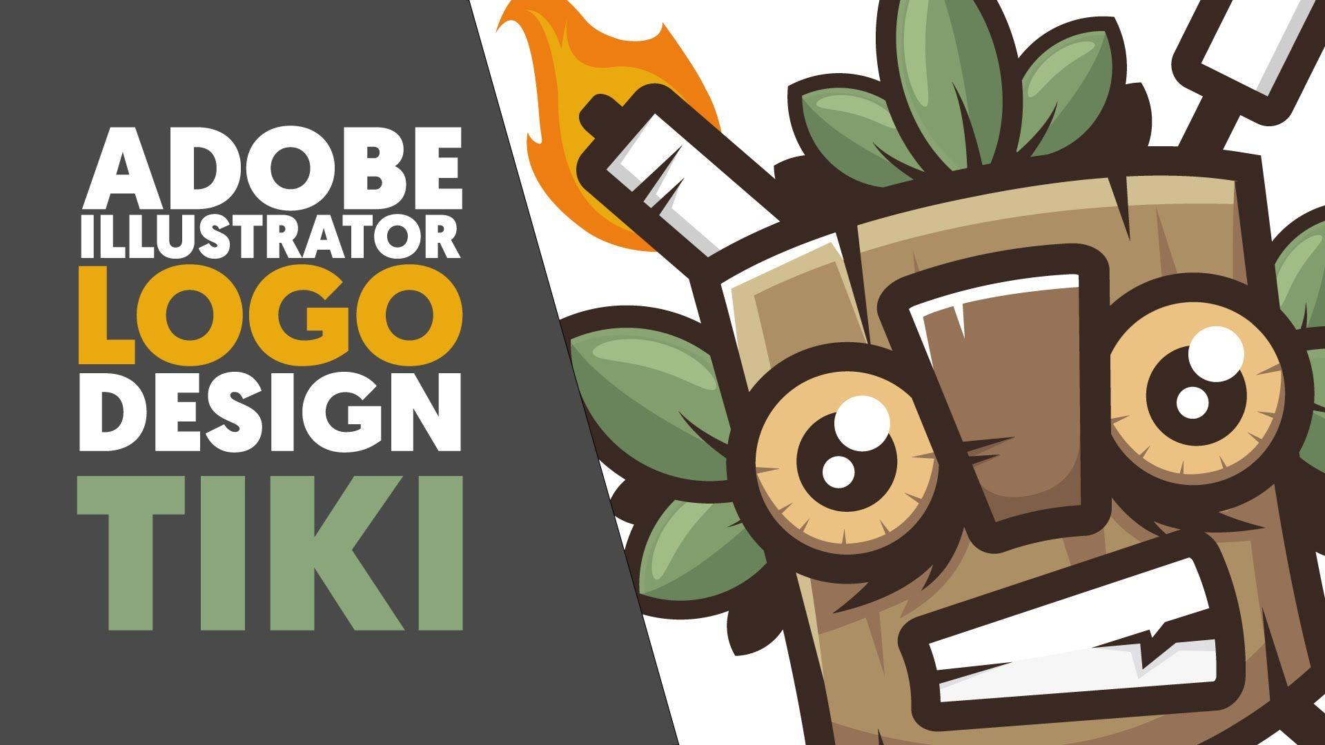 Adobe Illustrator Logo design / Illustration TIKI