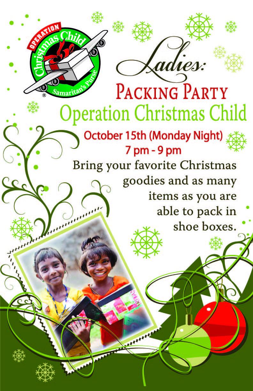 Child Operation …   OCC ideas   Pinterest   Operation christmas ...