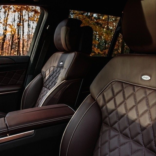 The Gl550 With Its Designo Diamond Stitched Upholstery Blends