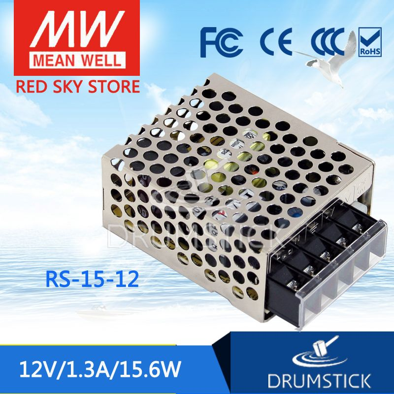 Competitive Products Mean Well Rs 15 12 12v 1 3a Meanwell Rs 15 12v 15 6w Single Output Switching Power Supply Led Power Supply Electrical Equipment Wellness