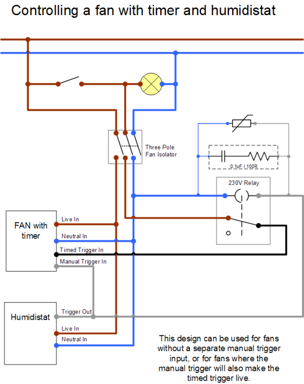 Wiring Diagram For Inline Extractor Fan With Timer Diagram Extractor Fans Bathroom Extractor Fan Bathroom Fan